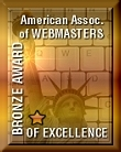 American Association of Webmasters Bronze Award