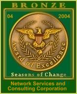 Seasons of Change Bronze Award