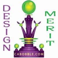 Cabobble Design Merit Award