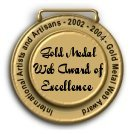 Gold Medal Web Award of Excellence