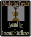 MarketingTrendz Internet Excellence Award