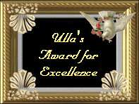 Ulla's Award for Excellence